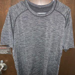 Used Short Sleeved Lululemon Shirt